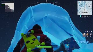 Fortnite Season 9 Polar Peak Cracking Every 5 Minutes And Melting Event
