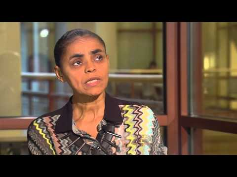 Interview with Brazilian activist Marina Silva