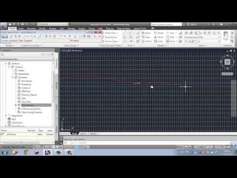 open channel design using CIVIL 3D