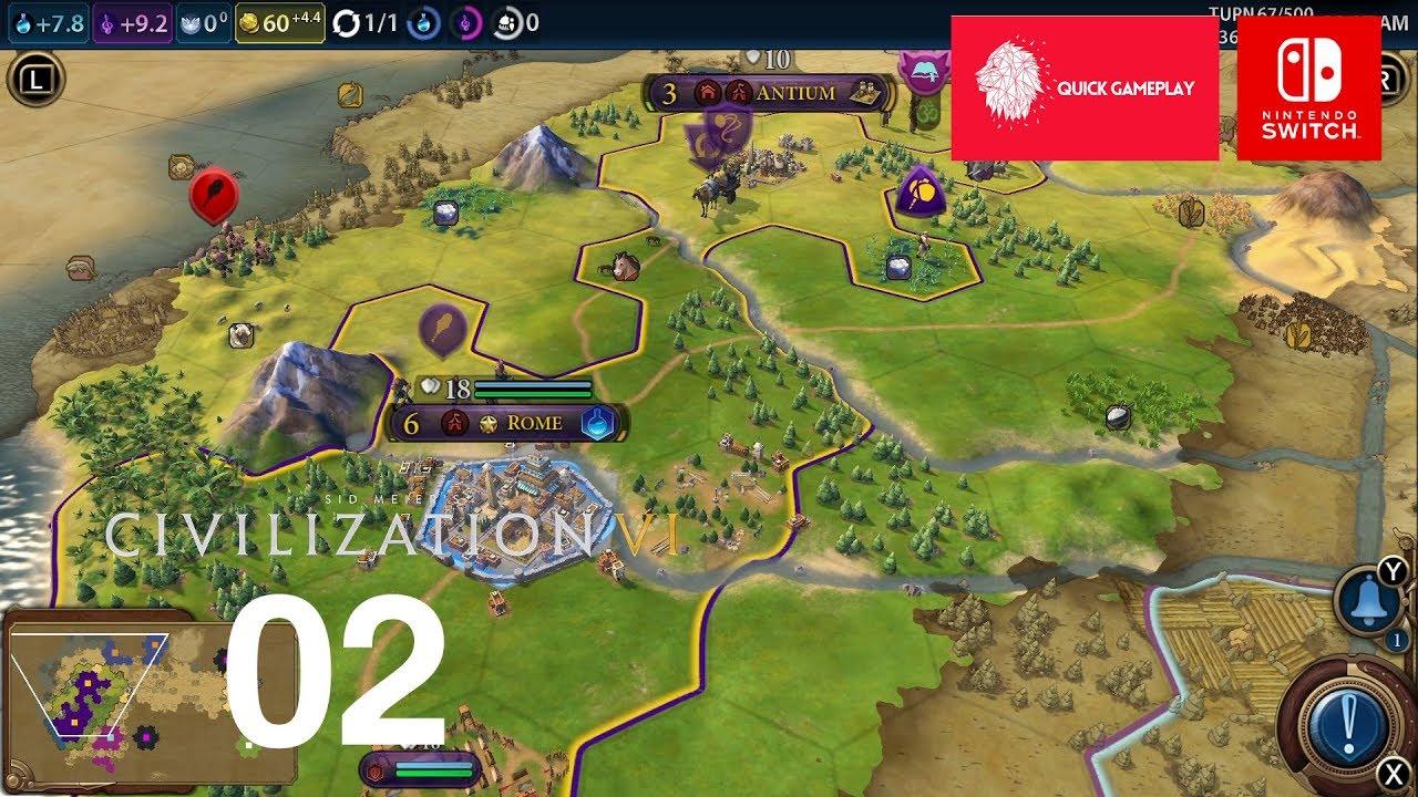 Civilization 6 Switch Gameplay Walkthrough Part 2