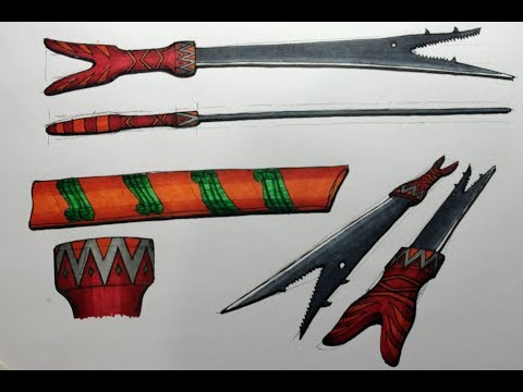 Pedang Bara Sangihe - Unique Sword from North Sulawesi Indonesia