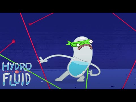 Secret Mission | HYDRO and FLUID | Funny Cartoons for Children