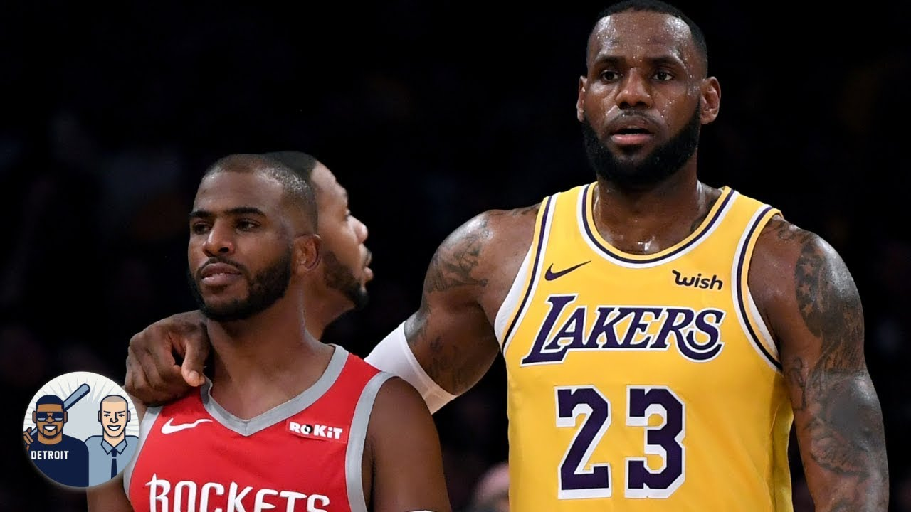 recruit Chris Paul to the Lakers
