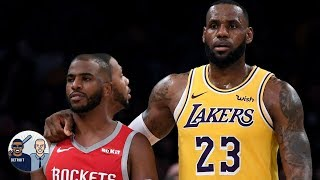 Maybe LeBron will recruit Chris Paul to the Lakers - Jalen Rose | Jalen & Jacoby