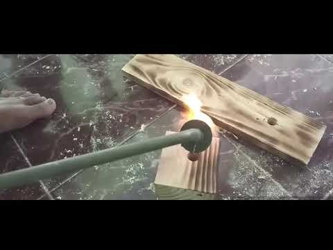 DIY LAMPU DINDING PALET HD (SIMPLE WALL LAMP)