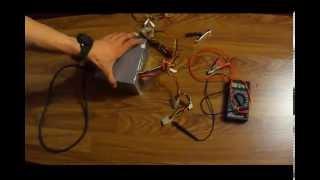 видео Преобразователь напряжения с 12 В на 220 В / 50 Гц