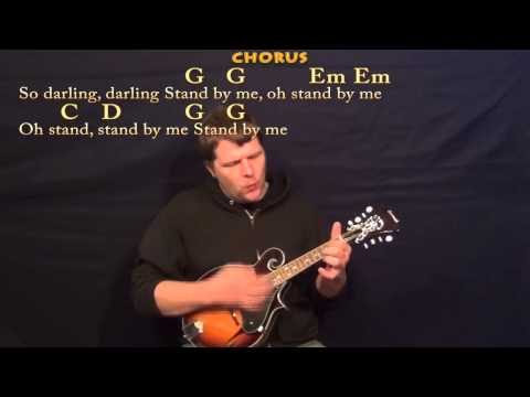Stand By Me (Ben E King) Easy Mandolin Cover Lesson in G - Chords/Lyrics
