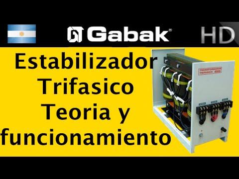 estabilizadores industriales oficinas trifasicos funcionamiento interno