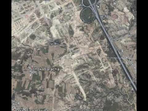 Top City Near New Airport Islamabad Last 5 Years Progress Via Google