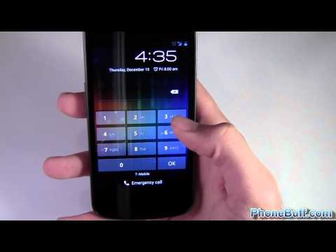 How To Use Face Unlock On Android 4.0 ICS