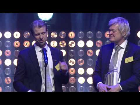Evensen og Sandrup i Betonmast – vinnere i kategori Industri - EY Entrepreneur Of The Year 2016