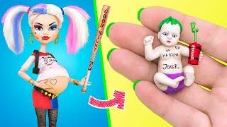 10 лайфхаков и поделок для беременной Харли Квин и миниатюрного малыша