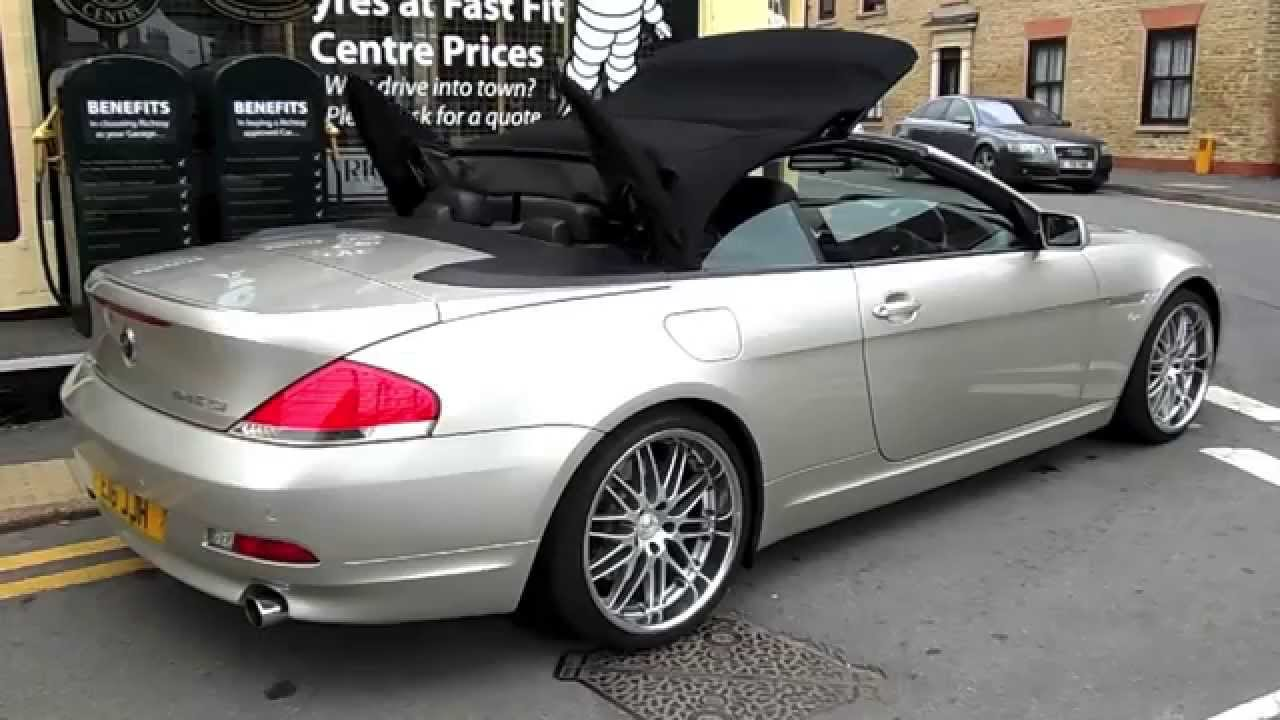 BMW Series Auto Convertible Richtoy HD YouTube - 2004 bmw 645ci convertible for sale