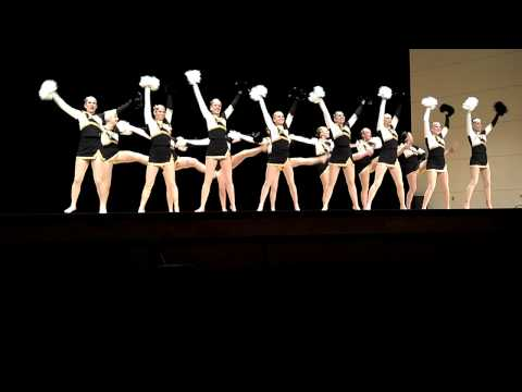 University of Wisconsin-Oshkosh 2012 NationalsPoms