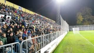 Mexicka vlna zapas MOL Cup 2016 - Opava-Plzen 4:2
