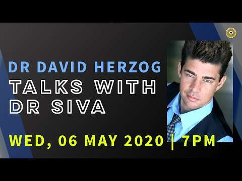 David Herzog Talks With Dr Siva LIVE | Special Livestream Service | Wednesday 6 May 2020