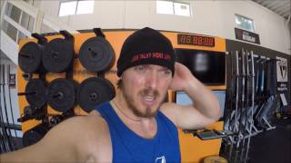LAPIKOV DMITRY in  CrossFit H  Town and training with JORDAN WEICHERS