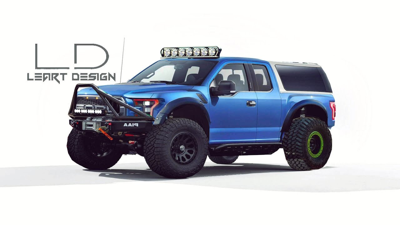 Virtual Tuning Ford F-150 Raptor SVT Photoshop Tuning - YouTube