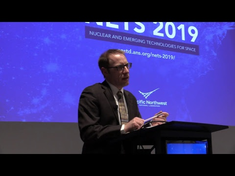 US Space Policy Keynote - Aaron Miles - #ANSMeeting #NETS19