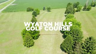 Wyaton Hills Golf Course Aerial View - Princeton, Illinois