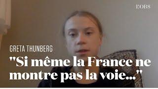 Greta Thunberg appelle Macron à