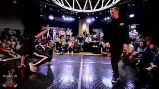Bboy JohnnyFox vs Bboy Kangur Finał Free Mind 2018