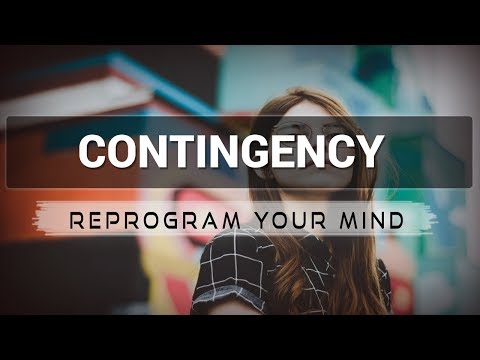 Contingency affirmations mp3 music audio - Law of attraction - Hypnosis - Subliminal