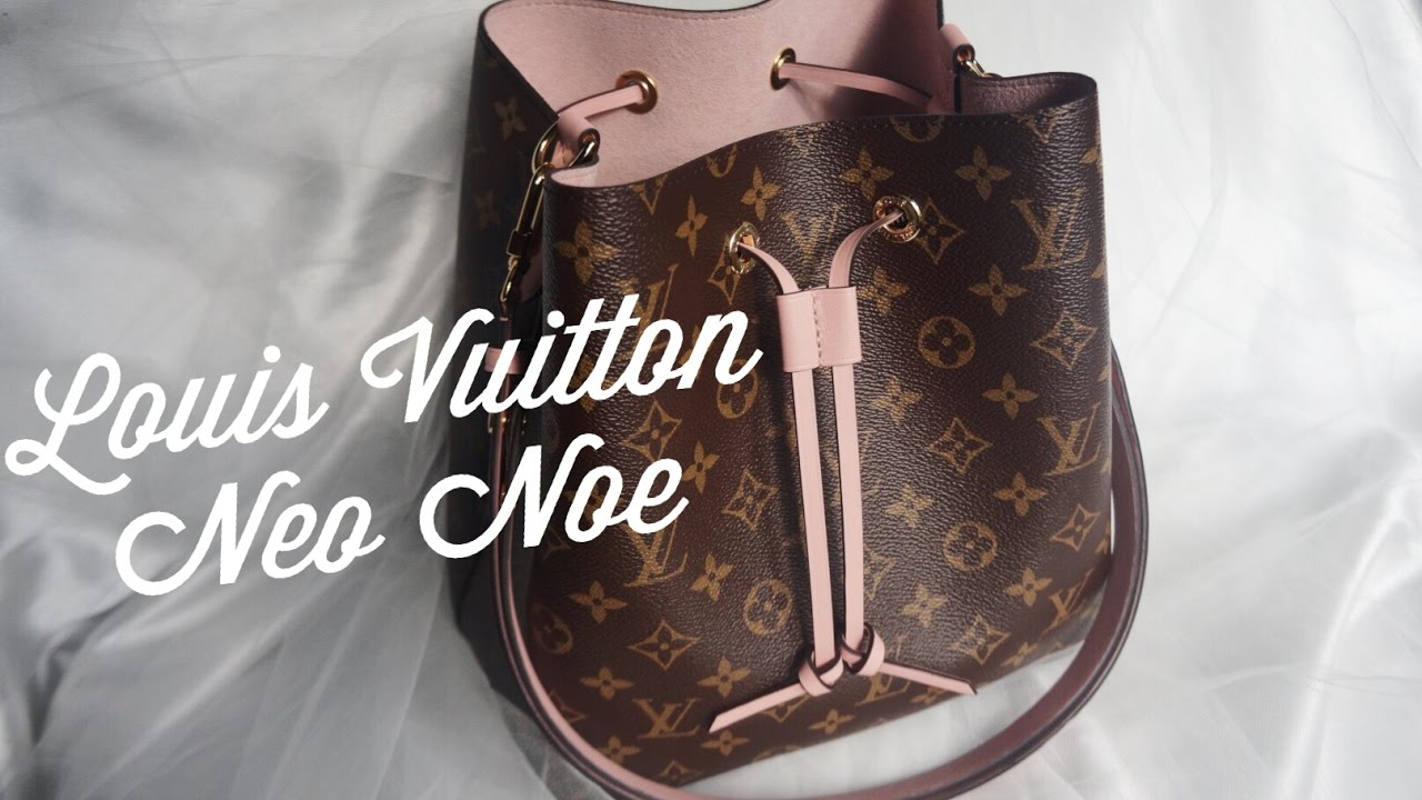 6c1472ab3 First Impressions + What Fits | LOUIS VUITTON NEO NOE - YouTube
