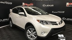 Used White 2015 Toyota RAV4 Limited Review - Red Deer, Alberta