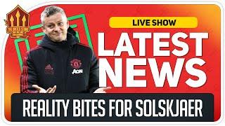 Solskjaer Reality Check! Pogba Setback! Man Utd News Now