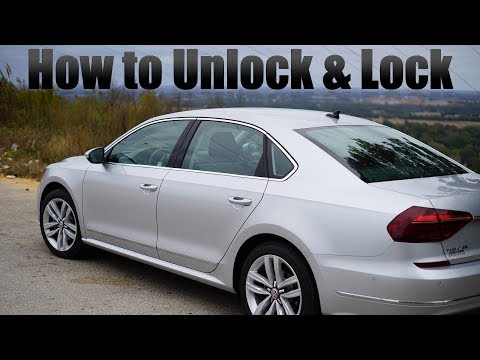 How To Unlock Lock Vw Passat Youtube