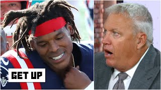 Cam Newton has no weapons, who's he going to throw to?! - Rex Ryan | Get Up