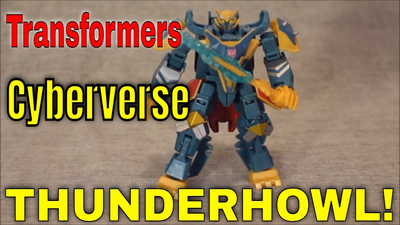 Cyberverse Deluxe Thunderhowl: How Does He Measure to the Ultra? Review by GotBot