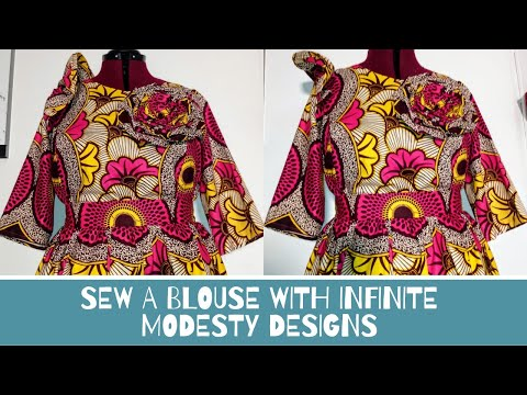 Sewing a blouse from scratch
