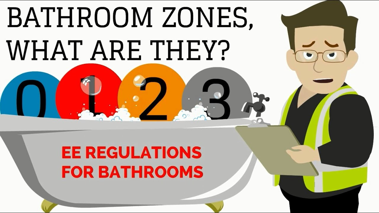 Iee Wiring Regulations For Bathrooms Circuit Connection Diagram 17th Edition Book Pdf Ip Rating Youtube Bs 7671 Bathroom Zones