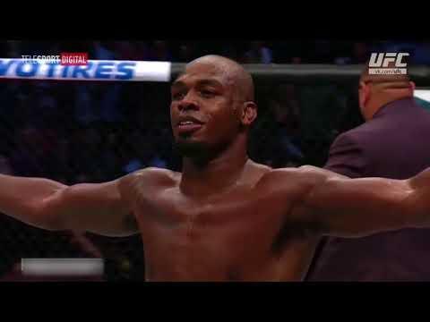 Слова Джона Джонса после боя с Кормье на турнире UFC 214©