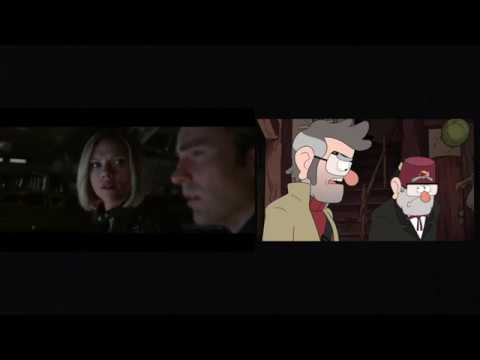 Avengers: Endgame Trailer 1 (Disney Channel/XD Parody) Side By Side Comparison