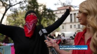 ANTIFA Bully Shuts Down Free Speech On UT Campus