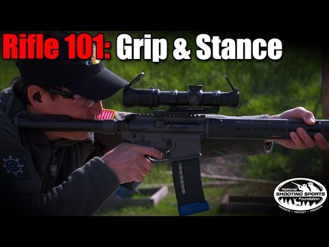 Rifle Grip & Stance - Rifle 101 with Top Shot Chris Cheng