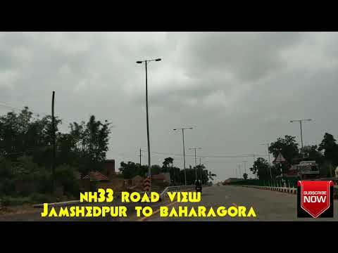 NH33 ROAD VIEW JAMSHEDPUR TO BAHARAGORA