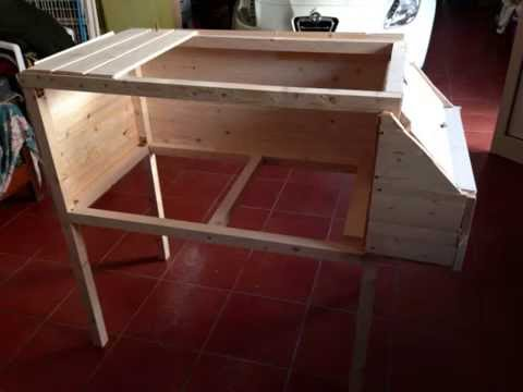 come costruire una gabbia per pernici coturnici