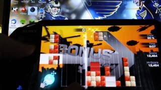 Lumines Electronic Symphony - Demo Gameplay (PS Vita)
