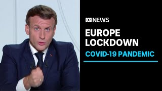 France, Germany impose national lockdowns due to surge in COVID-19 infections | ABC News