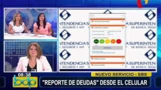 SBS: aplicación permite conocer reporte de deudas y crediticio