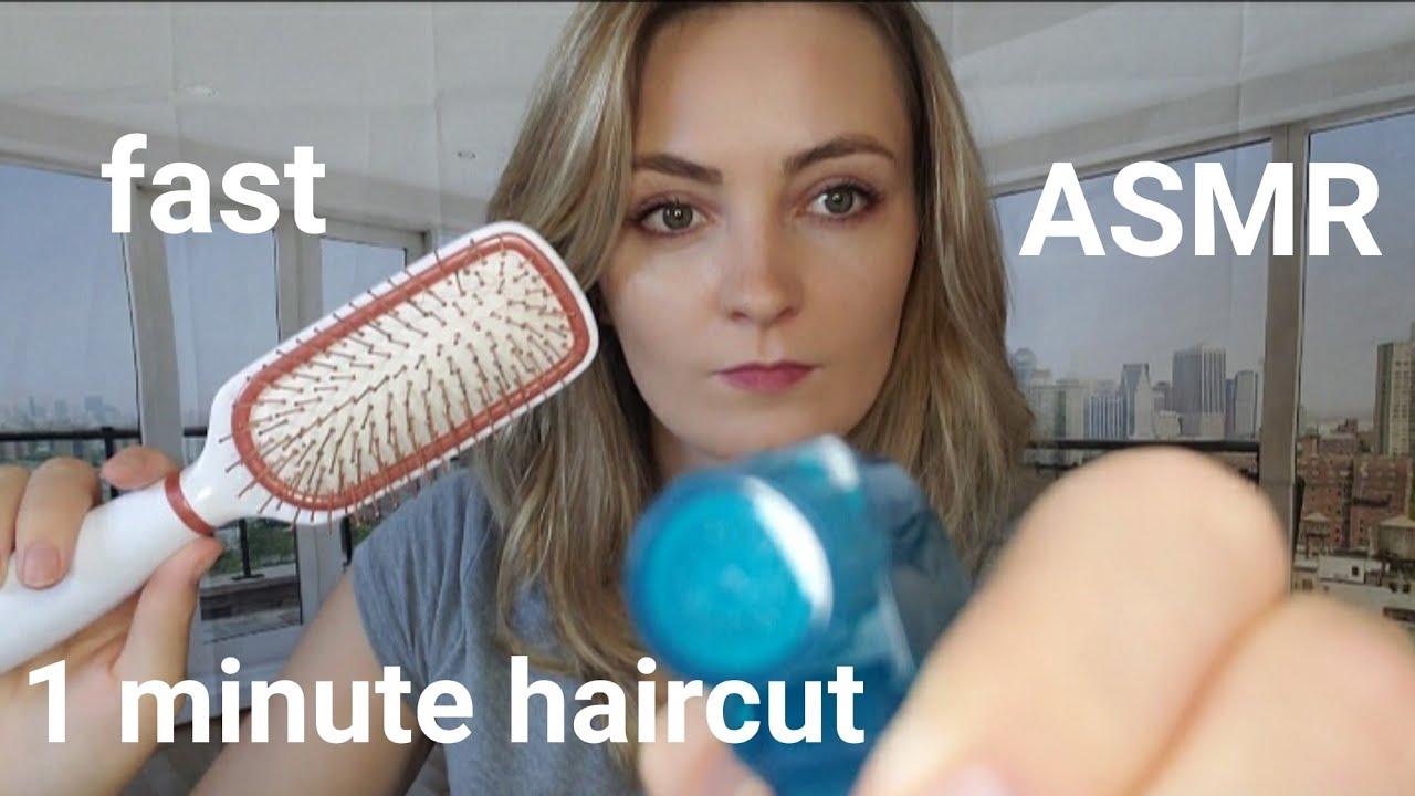 Download ASMR 1 minute haircut 💇♀️