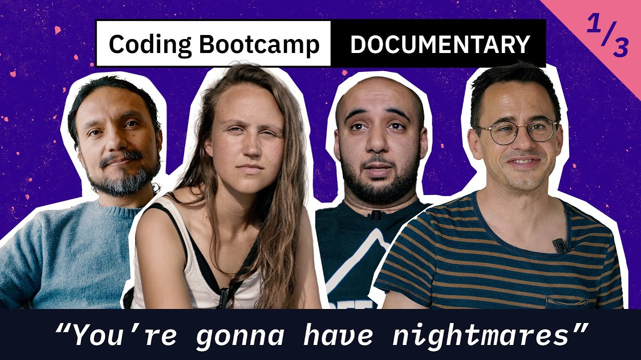 Coding Bootcamp Documentary (1/3): 'You're gonna have nightmares'