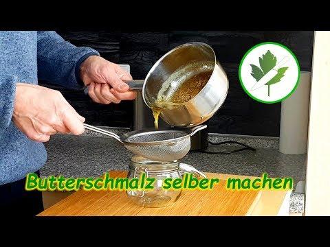 Wie macht man geklärte Butter? #Butterschmalz