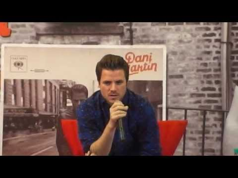 DANI MARTIN - CONFERENCIA DE PRENSA - MEXICO - NUEVO ALBUM