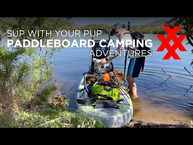 Solo Paddleboard Camping with your Dog - Expand Adventure Options