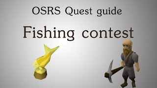 [OSRS] Fishing contest quest guide